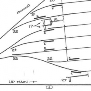 Signal Box layout diagrams: GN&GE Joint March to Spalding
