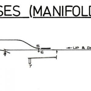 Signal Box layout diagrams: NSR Leek Brook - Waterhouses
