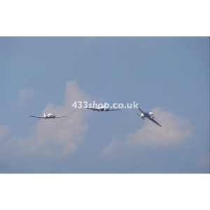 Douglas DC-3 G-AMSV, G-AMRA, G-AMPY at Coventry