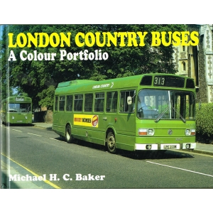 London Country Buses: A Colour Portfolio, by Michael H C Baker