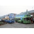 Kentish Bus 678 & Hastings & District 650 at Tonbridge