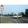 County Bus MB722 at Hertford