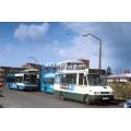 County Bus MB722 at Harlow