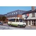 County Bus MB728 at Hertford