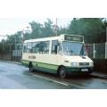 County Bus MB729 at Ware