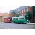 LCNE SNB208 & London Buses M599 at Hertford