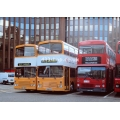 Capital Citybus 199, 189 & LT M1296 at Aldgate
