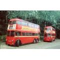 LT 260 & 1201 (preserved) at Carlton Colville