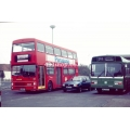 Southdown 103 and London Buses M1075 at Chichester