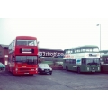 London Buses M1075 & Southdown 614 at Chichester