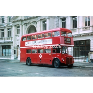 London Buses RM1123 at Moorgate