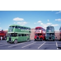 LCBS RT3461, LT RT1702 & RT227 (preserved) at Barking