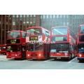 TA86 (Stagecoach London), L325 (Arriva London) & London Central PVL292 at Aldgate