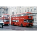 London Buses L36 & T674 at Moorgate
