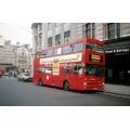 London Buses M1172 at Trafalgar Square