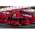 London Buses M669 etc at Potters Bar