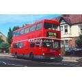 County Bus KYV 746X at Hertford