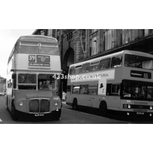 Clydeside Scottish ALM 83B & Strathclyde LO39 at Glasgow
