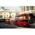 London Buses RM946 & RML2343 at St Giles Circus