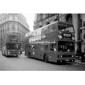 London Buses T536 & H2 at Aldwych