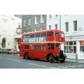 LT RLH23 (preserved) at Covent Garden