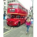 RM386 (London Retro Bus Hire) at Piccadilly