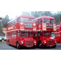 London Buses RM737 & RM719 at Weybridge