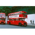 London Buses RML2381 & RM598 at Whitehall