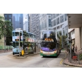 New World First 6128 and Hong Kong Tram 23 at North Point