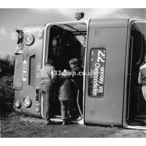 Ipswich 31 at Shotley (accident)