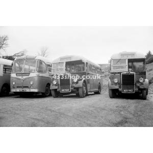 Aaron Jenkins SWX 768, KNY 960 & KNY 962 at Pontardulais