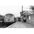 Braintree SB (E56436 in station)