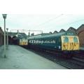505 & 438 at Hertford East