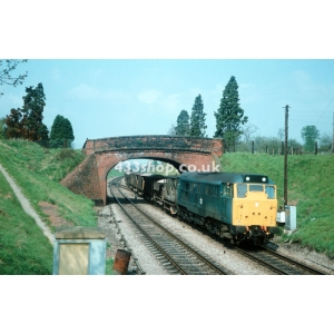 Class 31 locomotive at Norton Junction