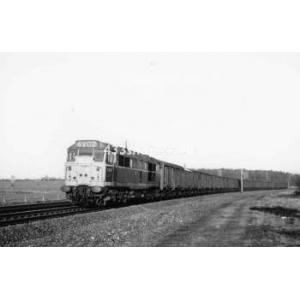 Class 31 locomotive near Elsenham