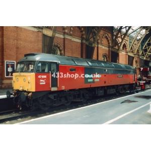 47606 at St Pancras