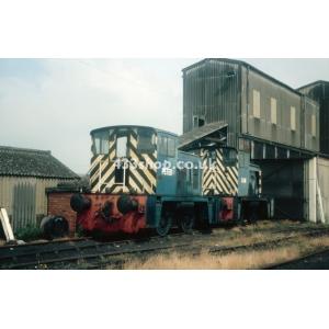 """LCP Fuels """"Peter"""" & """"Sam"""" (02003 & D2868) at Pensnett"""