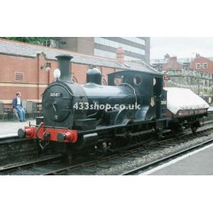 30587 (preserved) at Bury.Bolton Street