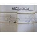 Signal Box Diagram (Office Copy): Malvern Wells