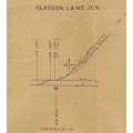 Civil Engineer's Plan: Verney Junction to Launton