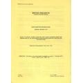 Resignalling Notice: Northampton 1991