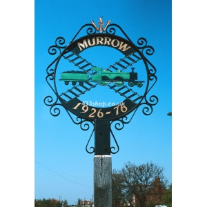 Murrow village sign