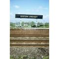 Kirton Lindsey station sign