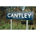 Cantley station sign
