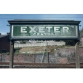 Exeter Central station sign