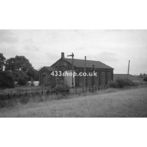 Harpenden East goods shed