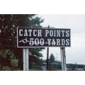 Catch points sign at Leaton