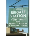 Reigate station sign