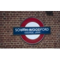 South Woodford station sign
