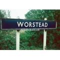Worstead station sign